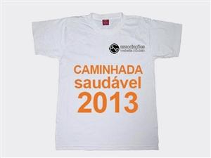 T Shirt Caminada Saudavel