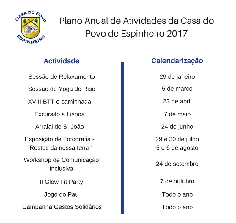 Plano Anual de Atividades da Casa do Povo de Espinheiro 2017.jpg