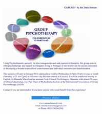 Group Psychotherapy for foreigners in Portugal
