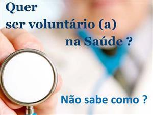 Quer ser Voluntário na Saúde?
