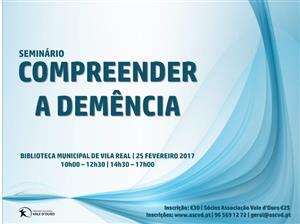 """Seminário """"Compreender a Demência"""""""